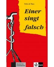 Felix&Theo Einer singt falsch A2 Buch