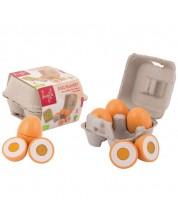 Дървен комплект за детска кухня Jouéco - Дървени яйца -1