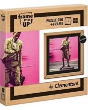 Пъзел Clementoni Frame Me Up от 250 части - Живот на бързи обороти -1