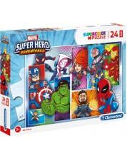 Пъзел Clementoni от 24 макси части - Супергероите на Марвел -1