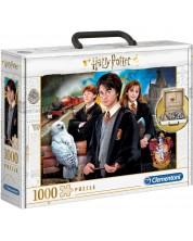 Пъзел Clementoni от 1000 части - Хари Потър, в куфарче