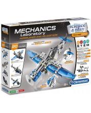 Конструктор Clementoni Mechanics Laboratory - Самолети и хеликоптери -1