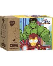 Пъзел Clementoni от 3 x 48 части - Супергерои -1