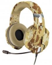 Гейминг слушалки Trust - GXT 322D Carus, desert camo