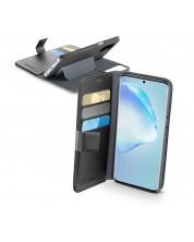 Калъф Cellularline - Book Agenda, за Samsung Galaxy S20+, черен