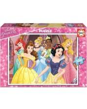 Пъзел Educa от 100 части - Принцеси