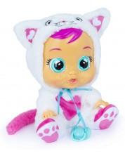 Плачеща кукла със сълзи IMC Toys Cry Babies - Дейзи, коте -1