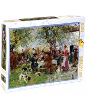 Пъзел Gold Puzzle от 1000 части - Обядът на ловците -1