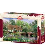 Пъзел Art Puzzle от 1000 части - Водни лилии