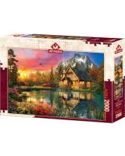 Пъзел Art Puzzle от 2000 части - Четири сезона