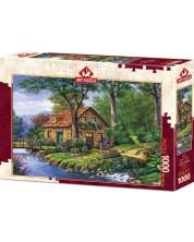Пъзел Art Puzzle от 1000 части - Хармония в гората, Артуро Зарага -1