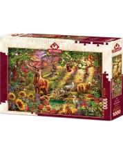 Пъзел Art Puzzle от 1000 части - Магическа гора -1