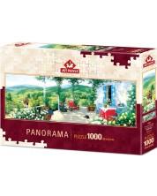 Панорамен пъзел Art Puzzle от 1000 части - Гост във Веранда