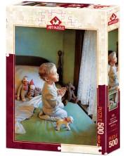 Пъзел Art Puzzle от 500 части - Невинна молитва -1