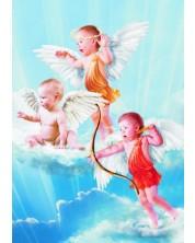 Пъзел Gold Puzzle от 1000 части - 3 малки ангелчета -1