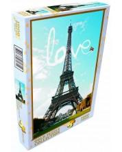 Пъзел Gold Puzzle от 1000 части - Любов в Париж -1