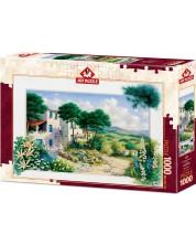 Пъзел Art Puzzle от 1000 части - Лятна къща