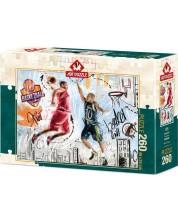 Пъзел Art Puzzle от 260 части - Баскетбол