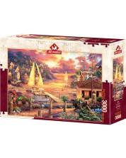 Пъзел Art Puzzle от 3000 части - Златното море, Чък Пинсън