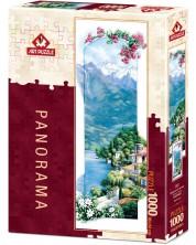 Панорамен пъзел Art Puzzle от 1000 части - Средиземноморско утро