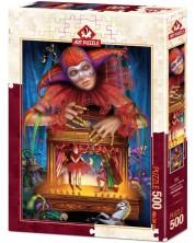Пъзел Art Puzzle от 500 части - Кукловод с маска -1