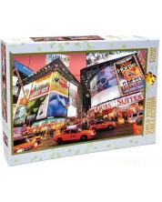 Пъзел Gold Puzzle от 1500 части - Бродуей, Таймс Скуеър, Ню Йорк -1