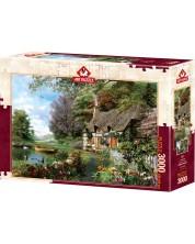 Пъзел Art Puzzle от 3000 части - Селска къща