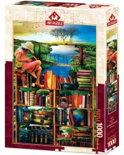 Пъзел Art Puzzle от 1000 части - Пътешествие през света