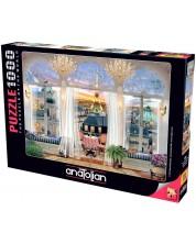 Пъзел Anatolian от 1000 части - Изглед от тераса в Париж, Дейвид Маклийн -1