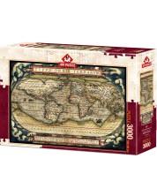 Пъзел Art Puzzle от 3000 части - Първият модерен атлас, 1570