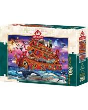 Пъзел Art Puzzle от 260 части - Ноевият ковчег