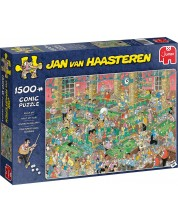 Пъзел Jumbo от 1500 части - Chalk Up, Ян ван Хаастерен -1
