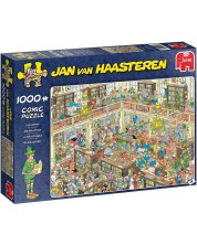 Пъзел Jumbo от 1000 части - Библиотеката, Ян ван Хаастерен