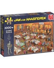 Пъзел Jumbo от 1000 части - Дартс, Ян ван Хаастерен -1