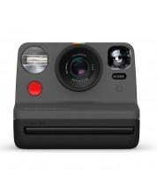 Моментален фотоапарат Polaroid - Now, черен