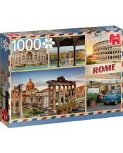 Пъзел Jumbo от 1000 части - Поздрави от Рим -1