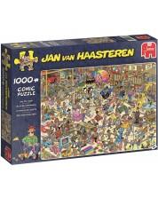 Пъзел Jumbo от 1000 части - Магазин за играчки, Ян ван Хаастерен -1