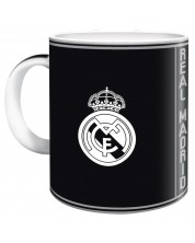 Чаша Ars Una Real Madrid - 300 ml, черна -1