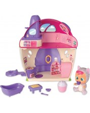 Комплект IMC Toys Cry Babies Magic Tears - Плачеща кукла Кейти с къщичка