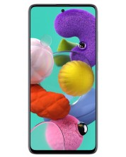 "Смартфон Samsung Galaxy A51 - 6.5"", 128GB, бял"