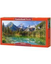 Панорамен пъзел Castorland от 4000 части - Величието на планините -1