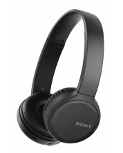 Безжични слушалки Sony - WH-CH510, черни -1