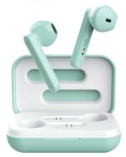 Безжични слушалки Trust - Primo Touch, TWS, Mint -1