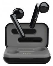 Безжични слушалки Trust - Primo Touch, TWS, черни -1