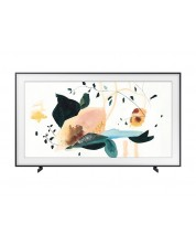 "Смарт телевизор Samsung - 75LS03 , 75"", 4K UHD, LED TV, Charcoal Black -1"