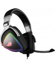 Гейминг слушалки Asus - ROG Delta, черни