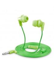 Слушалки с микрофон Cellularline - Smarty, зелени