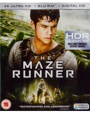 The Maze Runner 4K (Blu Ray)