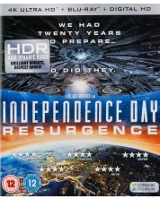 Independence Day: Resurgence 4K (Blu Ray)