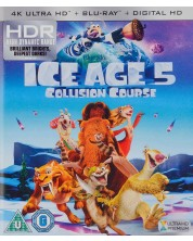 Ice Age 5: Collision Course 4K (Blu Ray) -1